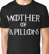 Mother of Papillons Dog T Shirt Graphic T-Shirt