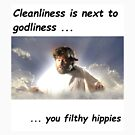cleanliness is next to godliness by Joseph Barrows