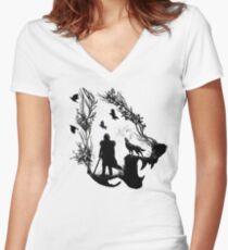 Lone Wolf Shirt mit V-Ausschnitt