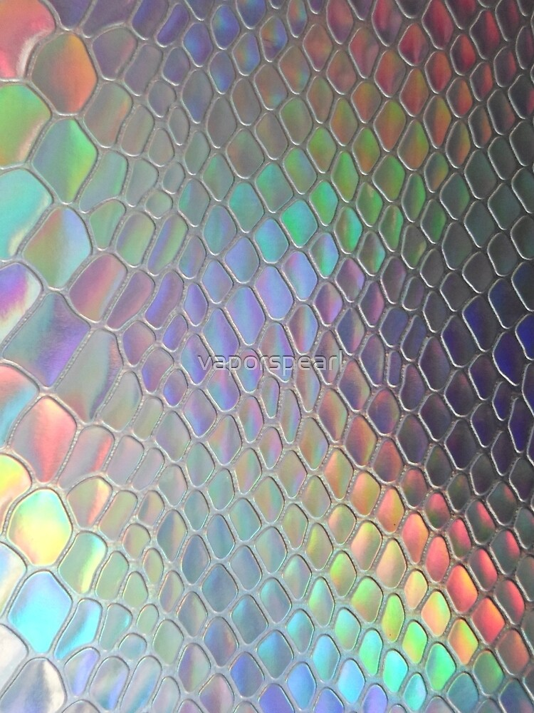 Holographic croc by vaporspearl