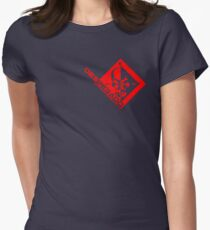 Metal Gear Rising - Desperado Enforcement Womens Fitted T-Shirt