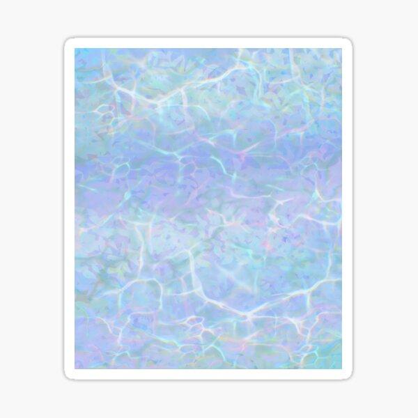 Marble Pastel Water Pattern Sticker