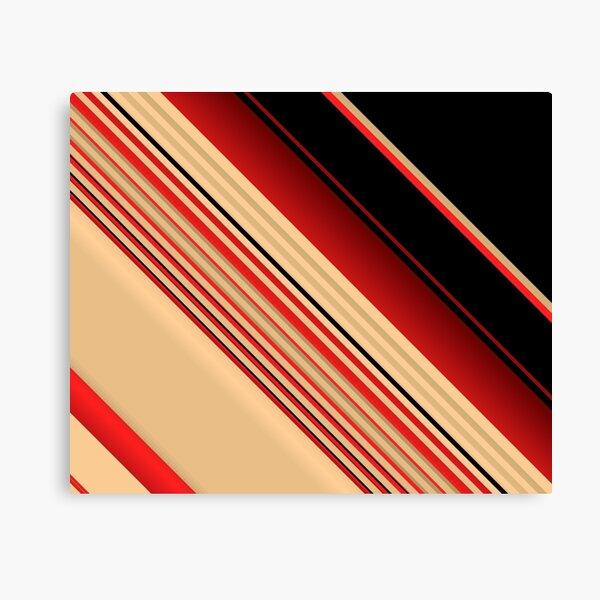 Shuffled Layers Canvas Print