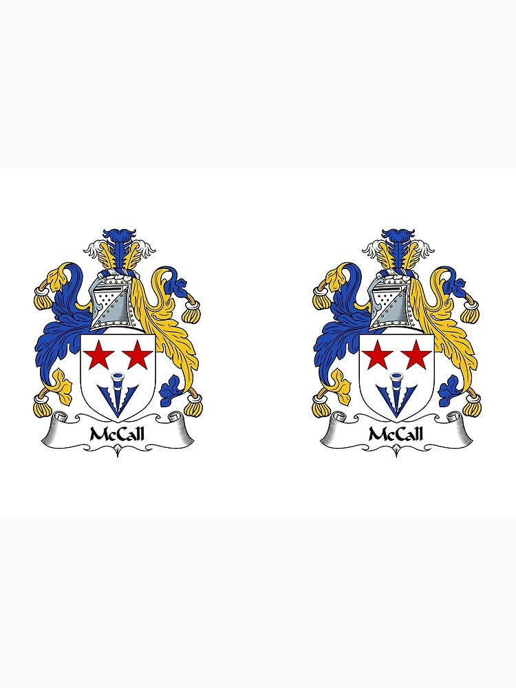 McCall Coat of Arms / McCall Family Crest by ScotlandForever