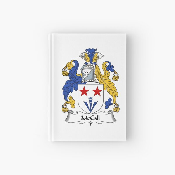 McCall Coat of Arms / McCall Family Crest Hardcover Journal