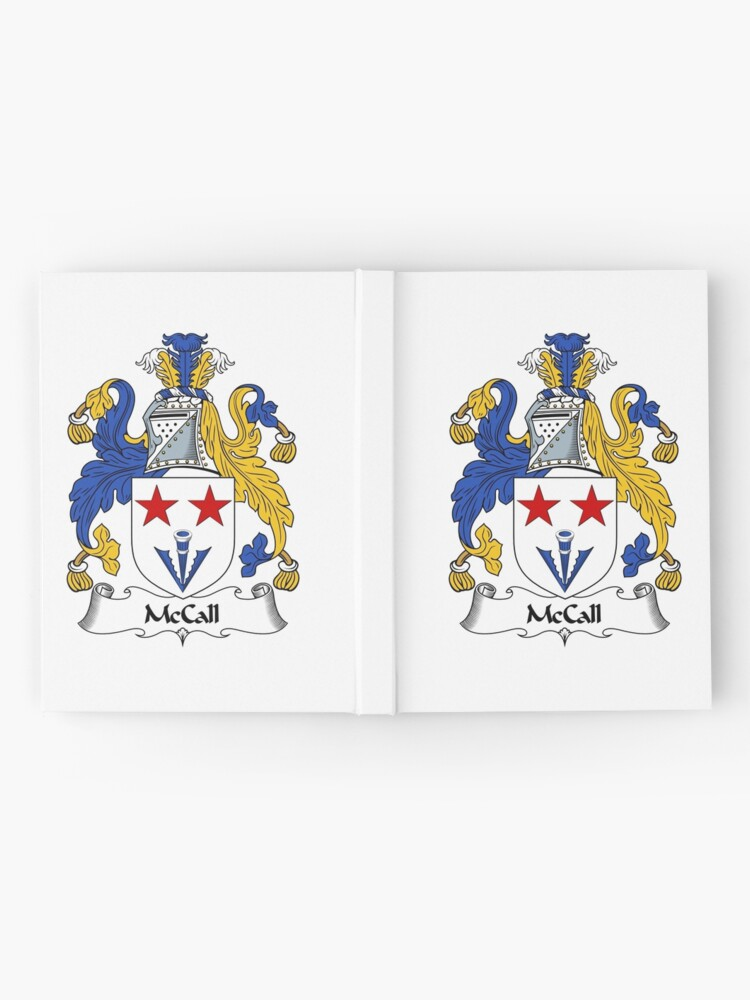 Alternate view of McCall Coat of Arms / McCall Family Crest Hardcover Journal