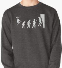 Funny Rock Climbing Evolution T Shirt Pullover