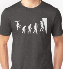 Funny Rock Climbing Evolution T Shirt T-Shirt