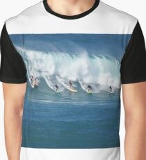 Waimea Bay Crowd Graphic T-Shirt