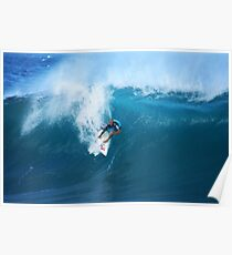Kelly Slater Takeoff Pipeline Masters Poster