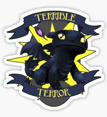 Terrible Terror! Sticker