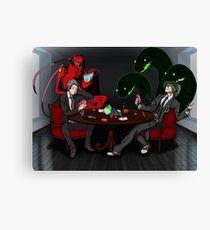 Adachi + Hazama  Canvas Print