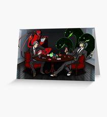 Adachi + Hazama  Greeting Card