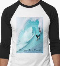 Waimea Big Wave Boogie T-Shirt Men's Baseball ¾ T-Shirt