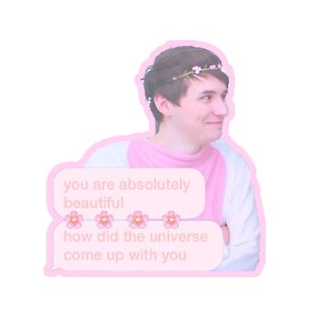 Danisnotonfire Cute Sticker! by mobisu