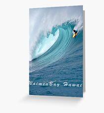 Waimea Bodyboarder T-Shirt Greeting Card
