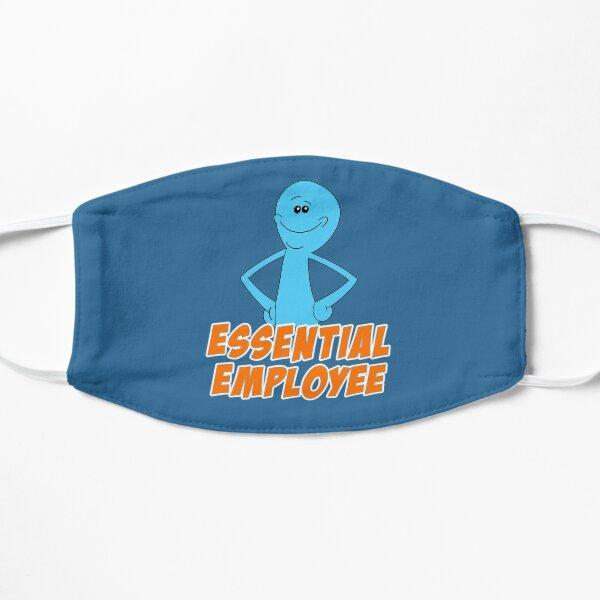 Meeseeks Essential Employee  Flat Mask