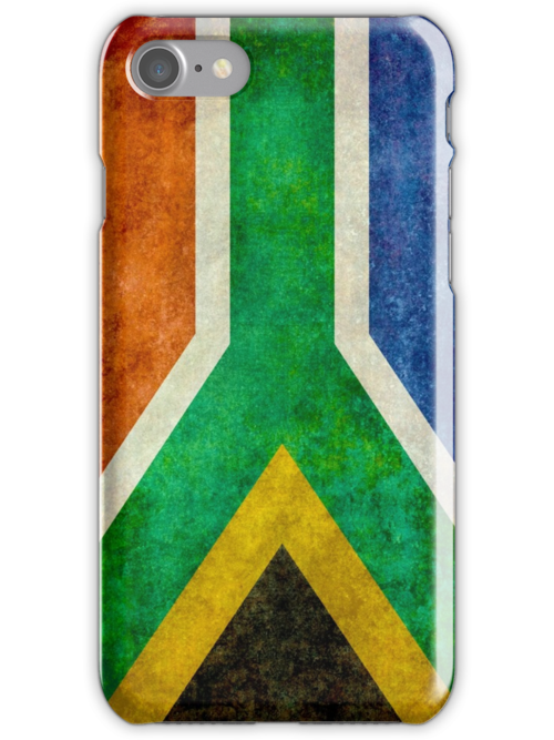 National flag of the Republic of South Africa by Bruce Stanfield