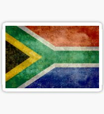 National flag of the Republic of South Africa Sticker