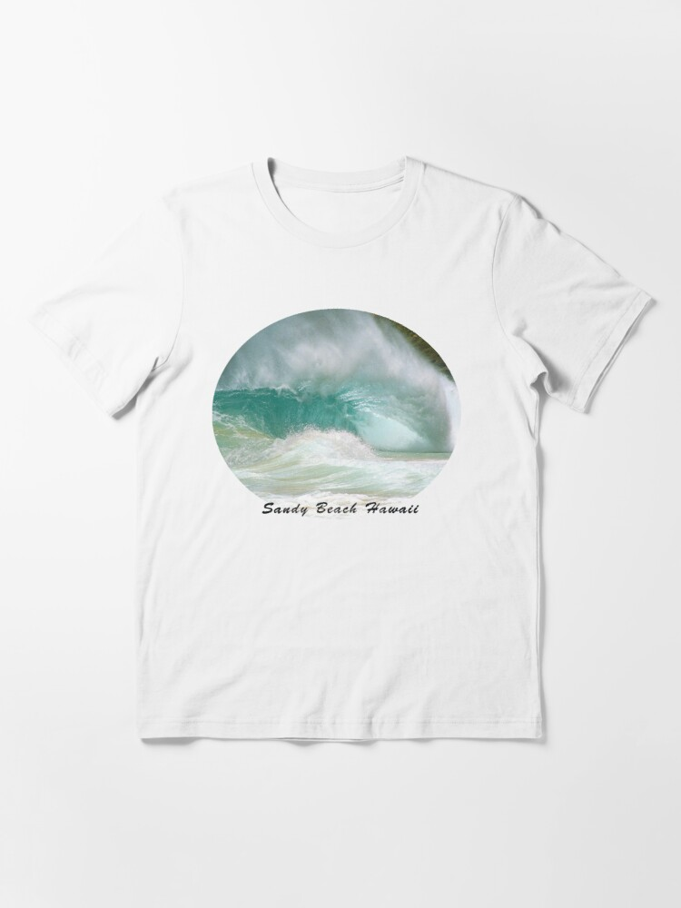 Alternate view of Obama's Bodysurfing Beach Essential T-Shirt