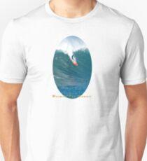 Banzai Takeoff Pipeline Hawaii Unisex T-Shirt