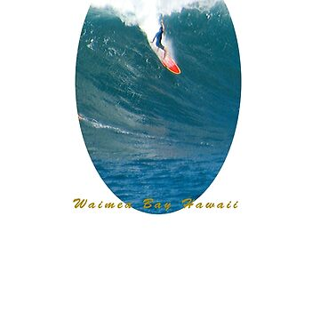 Banzai Takeoff Pipeline Hawaii by skystudio