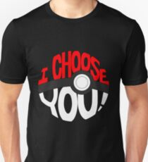 pokemon i choose you T-Shirt