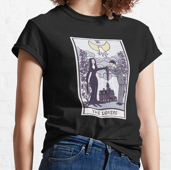 The lovers - tarot - Addams family Classic T-Shirt