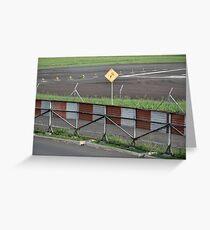 husein sastranegara airfield Greeting Card