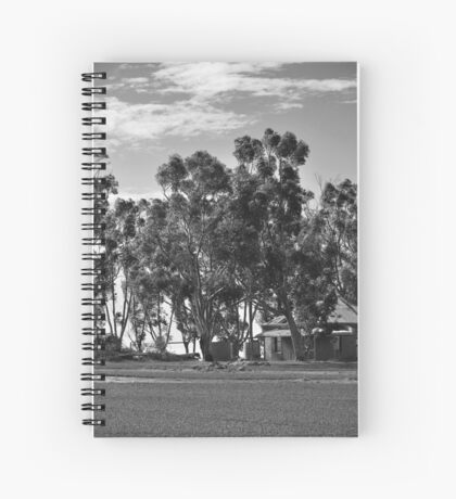An Old Country Lady Spiral Notebook