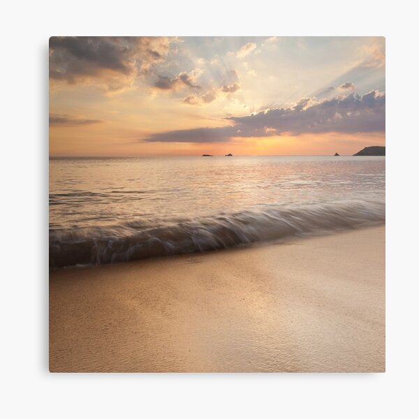 The Perfect Wave Metal Print