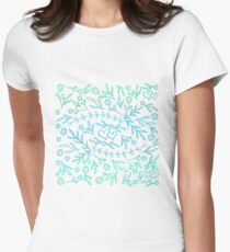 Doodles - In Love Women's Fitted T-Shirt
