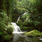 McLean Falls by kevin smith  skystudiohawaii