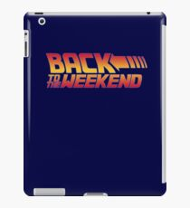 Back to the weekend iPad Case/Skin