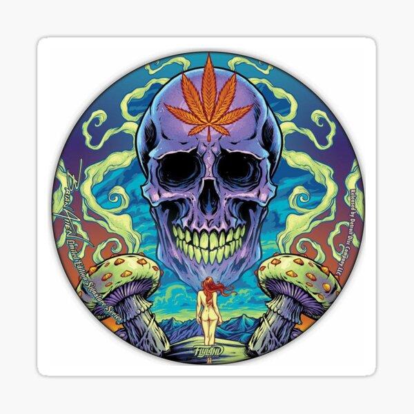 Skull heard, anime, digital, drawing, skull, heard, illustration, Artwork, simplex's Sticker