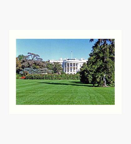 View of the Oval Office Art Print