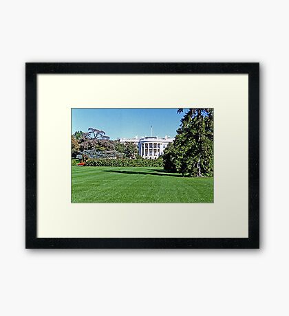 View of the Oval Office Framed Print