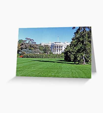View of the Oval Office Greeting Card