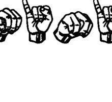 ASL Feminist Sticker