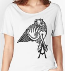 Buffy- angel's tattoo (black) Women's Relaxed Fit T-Shirt