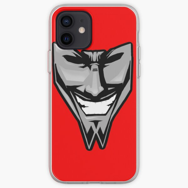 DAETRIX smiling mask iPhone Soft Case