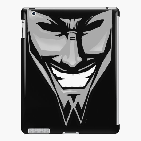 DAETRIX smiling mask iPad Snap Case