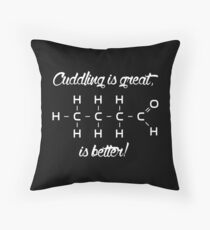 Chemistry Joke Throw Pillow