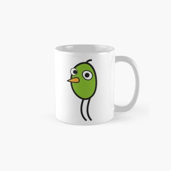 Fun Bird the green one, by Suzies Sparrow Classic Mug