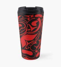 abstract indigenous ornament Travel Mug