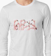 Penpals: Pink Long Sleeve T-Shirt