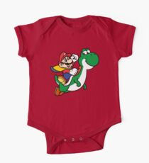 mario and yoshi One Piece - Short Sleeve