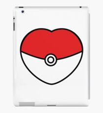 POKEBOLA HEART POKEMON GO iPad Case/Skin