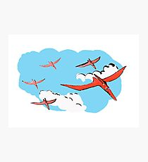 Pterodactyl Flying Squadron Photographic Print