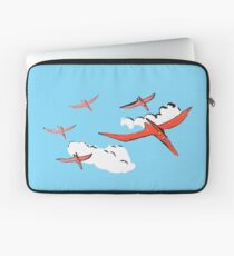 Pterodactyl Flying Squadron Laptop Sleeve